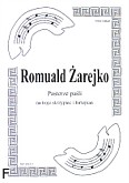 Ok�adka: �arejko Romuald, Pasterze pa�li na 3 skrzypiec i fortepian (partytura)