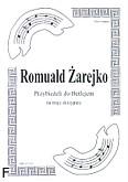 Ok�adka: �arejko Romuald, Przybie�eli do Betlejem na 3 skrzypiec (partytura + g�osy)