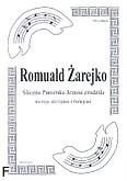 Okładka: Żarejko Romuald, Śliczna Panienka Jezusa zrodziła na 3 skrzypiec i fortepian (partytura)
