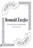 Okładka: Żarejko Romuald, Tryumfy na 3 skrzypiec (partytura)