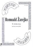 Okładka: Żarejko Romuald, W żłobie leży na 3 sktzypiec (partytura)