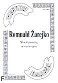 Okładka: Żarejko Romuald, Wesołą nowinę na 3 skrzypiec (partytura)