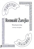 Ok�adka: �arejko Romuald, Weso�� nowin� na 3 skrzypiec (partytura)