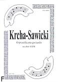 Okładka: Krcha Bartłomiej, O prześliczna gwiazdo kolęda na chór SATB a cappella