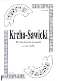 Ok�adka: Krcha Bart�omiej, O prze�liczna gwiazdo kol�da na ch�r SATB a cappella