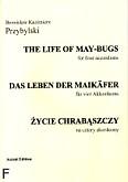 Ok�adka: Przybylski Bronis�aw Kazimierz, �ycie chrab�szczy na 4 akordeony (partytura + g�osy)