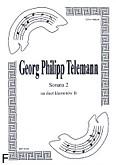 Ok�adka: Telemann Georg Philipp, Sonata 2 na duet Cl-Cl