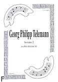 Okładka: Telemann Georg Philipp, Sonata 2 na flet i klarnet B