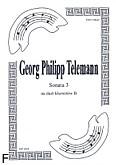 Ok�adka: Telemann Georg Philipp, Sonata 3 na duet Cl-Cl