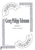 Ok�adka: Telemann Georg Philipp, Sonata 3 na flet i klarnet B