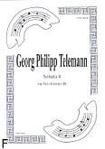 Okładka: Telemann Georg Philipp, Sonata 4 na flet i klarnet B