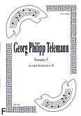 Ok�adka: Telemann Georg Philipp, Sonata 5 na duet Cl-Cl