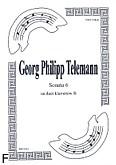 Ok�adka: Telemann Georg Philipp, Sonata 6 na duet Cl-Cl