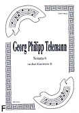 Okładka: Telemann Georg Philipp, Sonata 6 na duet Cl-Cl