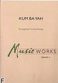 Okładka: , Kum Ba Yah (score + parts)