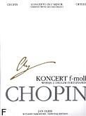 Ok�adka: Chopin Fryderyk, Koncert f-moll op. 21 (WN) (urtext)