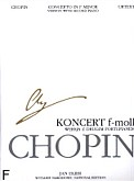 Okładka: Chopin Fryderyk, Koncert f-moll op. 21 (WN) (urtext)