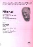 Okładka: Przybylski Dariusz, Kosek Robert, Konstrukcja / Psikus na saksofon altowy solo