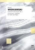 Okładka: Wieniawski Henryk, Adagio Élégiaque op. 5