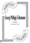 Okładka: Telemann Georg Philipp, Sonata 2 na duet Cl.-Fg