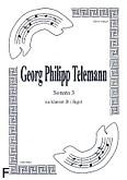 Okładka: Telemann Georg Philipp, Sonata 3 na duet Cl.-Fg