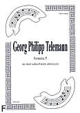 Okładka: Telemann Georg Philipp, Sonata 5 na duet A.Sax-A.Sax