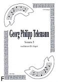 Okładka: Telemann Georg Philipp, Sonata 5 na duet Cl.-Fg