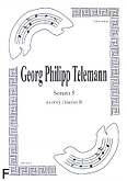 Okładka: Telemann Georg Philipp, Sonata 5 na obój i klarnet B