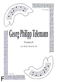 Okładka: Telemann Georg Philipp, Sonata 6 na obój i klarnet B