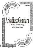 Okładka: Gembara Arkadiusz, Wśród nocnej ciszy na flet, klarnet i fagot (partytura + głosy)