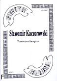 Okładka: Kaczorowski Sławomir, Toccata na fortepian
