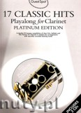 Ok�adka: , 17 Classic Hits Playalong for Clarinet