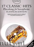 Ok�adka: , 17 Classic Hits Playalong For Saxophone