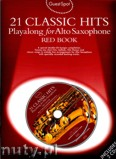 Ok�adka: , Guest Spot: 21 Classic Hits Playalong For Alto Saxophone - Red Book