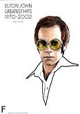 Okładka: John Elton, Greatest Hits 1970-2002 Elton John