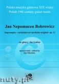Okładka: Bobrowicz Jan Nepomucen, Impromptu - variations sur un theme original op. 12