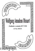 Okładka: Mozart Wolfgang Amadeus, Andante KV 330 trio altówkowe (partytura + głosy)