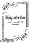 Ok�adka: Mozart Wolfgang Amadeus, Andante KV 330 trio alt�wkowe (partytura + g�osy)