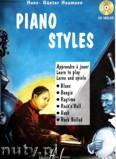 Okładka: , Heumann H.G.;Piano styles (Blues...)nuty