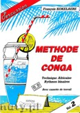 Okładka: Kokelaere Francois, Methode de Conga, Vol.2 (+ MC)