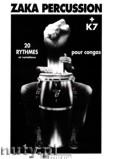 Okładka: , Zaka PERCUSSION;20 Rythmes Congas - nuty