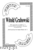 Okładka: Grabowski Witold, 256 wprawek na werbel cz. 3. Ćwiczenia ósemkowo - szesnastkowe z akcentami na niezależność rąk.