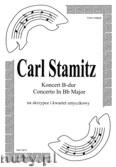 Okładka: Stamitz Carl, Koncert B-dur na skrzypce i kwartet smyczkowy (partytura + głosy)