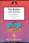 Okładka: Beatles The, The Beatles: Michelle / Eleanor Rigby / Yesterday / Ob-la-di, Ob-la-da for 4 Trombones (score and parts)