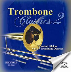 Okładka: Slokar Branimir, Trombone Classics 2.  Slokar Trombone Quartet