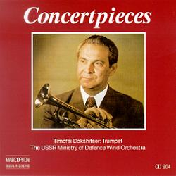 Okładka: Dokshitser Timofei, Concertpieces. Trumpet