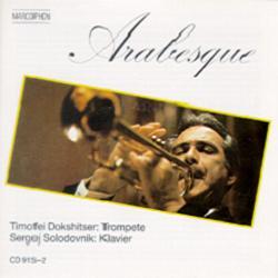 Okładka: Dokshitser Timofei, Arabesque. Trumpet