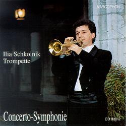 Okładka: Schkolnik, Concerto-Symphonie. Trumpet