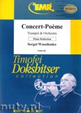 Ok�adka: Wassilenko Sergei, Concert - Poeme for Trumpet and Piano