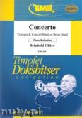 Okładka: Gliere Reinhold, Concerto for Trumpet and Piano